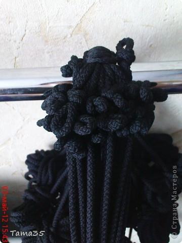 Интерьер, Мастер-класс Макраме: мастер класс по плетению кресла (часть 2) Шпагат Дебют. Фото 3