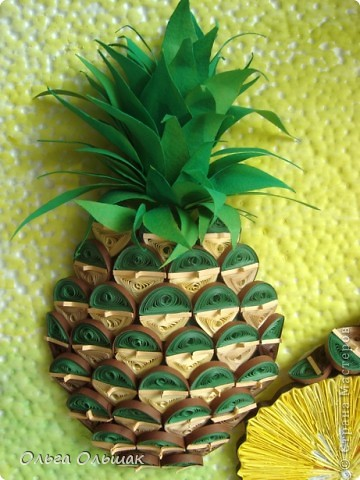 Как сделать лист ананаса 65