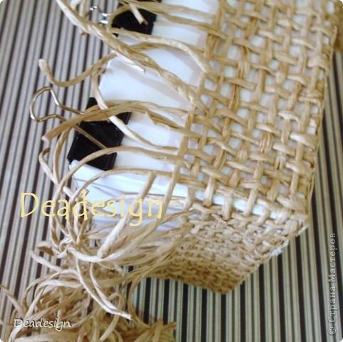 Декор предметов, Мастер-класс, Поделка, изделие Аппликация, Плетение: Коробочки для подарков. Фото 5