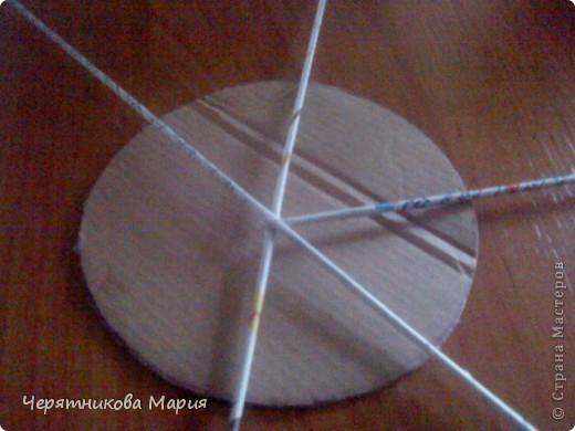 Мастер-класс, Поделка, изделие Плетение: МК хлебницы Бумага газетная. Фото 3
