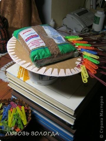 Мастер-класс, Поделка, изделие Плетение: завитушечка моя Трубочки бумажные. Фото 5