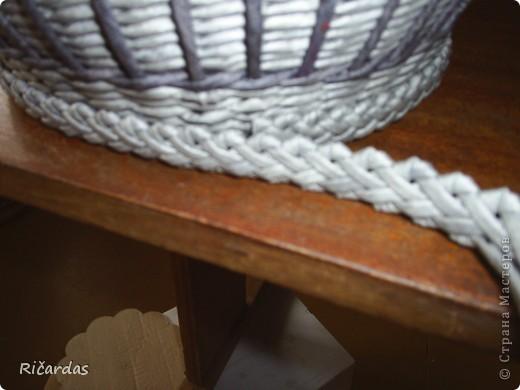 Плетение из газет зубатка мастер класс