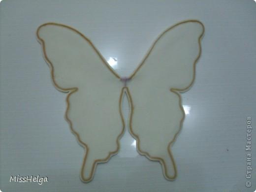 Как сделать крылья бабочки своими руками из ткани и проволоки 41