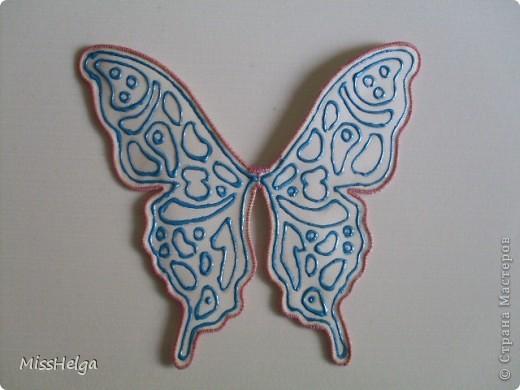 Как сделать крылья бабочки своими руками из ткани и проволоки 8