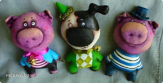 Игрушка Шитьё: мелкие игрушки Ткань 1 апреля. Фото 1