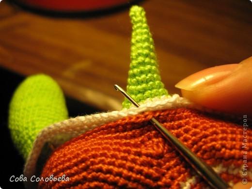 Игрушка, Мастер-класс, Поделка, изделие Вязание крючком: изготовление Черепашки. Фото 21
