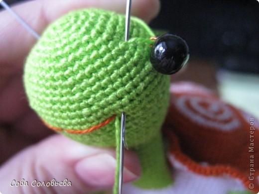 Игрушка, Мастер-класс, Поделка, изделие Вязание крючком: изготовление Черепашки. Фото 27