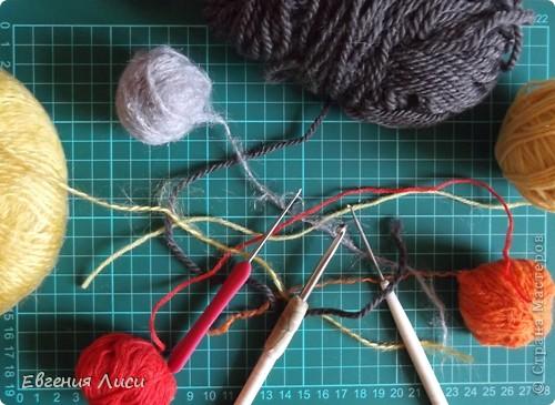 Игрушка, Мастер-класс Вязание крючком: Готовь сани летом - 2. Описание змеек. Пряжа Новый год. Фото 2