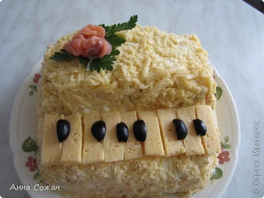 салат фортепиано рецепт с фото твоих