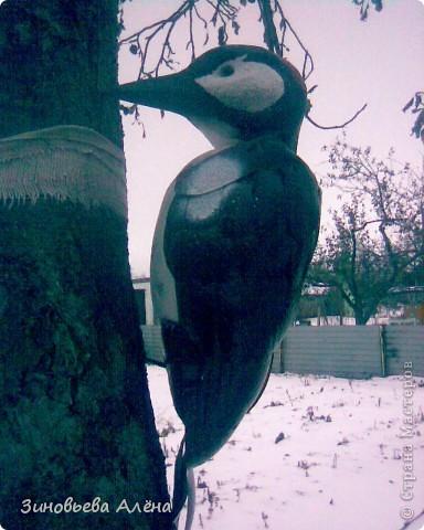 Поделка, изделие: Птицы из ПЭТ бутылок Бутылки пластиковые. Фото 10