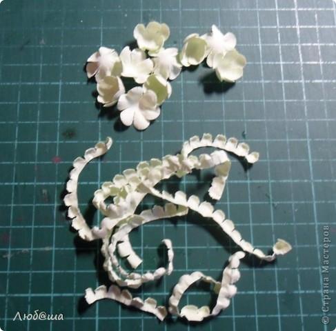 Мастер-класс Бумагопластика: Как я делаю пионы и розы. Бумага, Клей. Фото 22