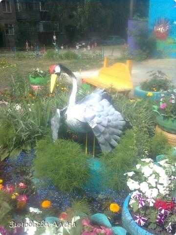 Поделка, изделие: Птицы из ПЭТ бутылок Бутылки пластиковые. Фото 12