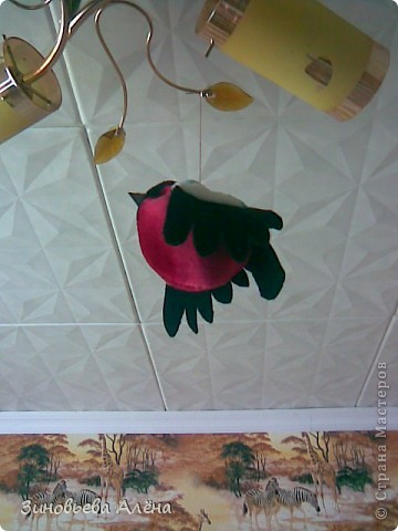 Поделка, изделие Шитьё: Как сшить птичек Ткань. Фото 5