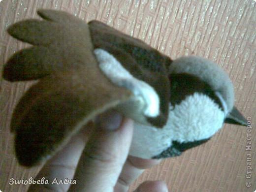 Поделка, изделие Шитьё: Как сшить птичек Ткань. Фото 4