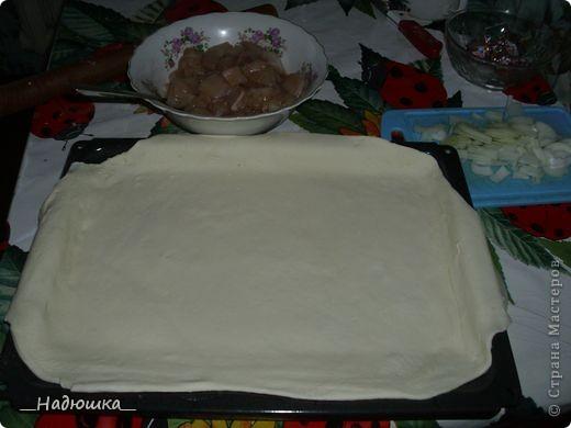 Кулинария, Мастер-класс Рецепт кулинарный: Пирог с картошкой и курицей из слоёного теста (+МК) Продукты пищевые. Фото 7