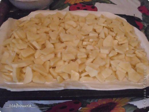 Кулинария, Мастер-класс Рецепт кулинарный: Пирог с картошкой и курицей из слоёного теста (+МК) Продукты пищевые. Фото 10