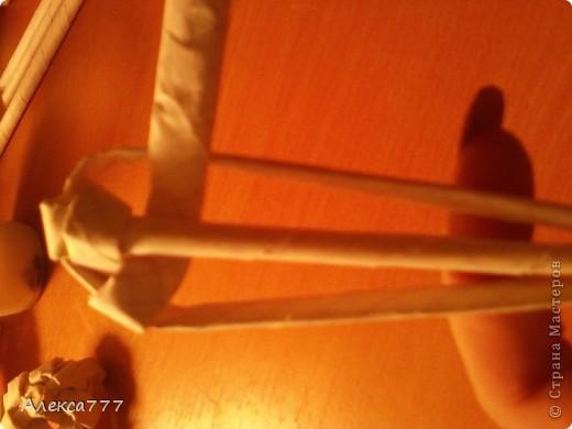 Мастер-класс Плетение: Мои ромашечки Бумага газетная, Бумага журнальная, Вата, Клей, Нитки. Фото 8
