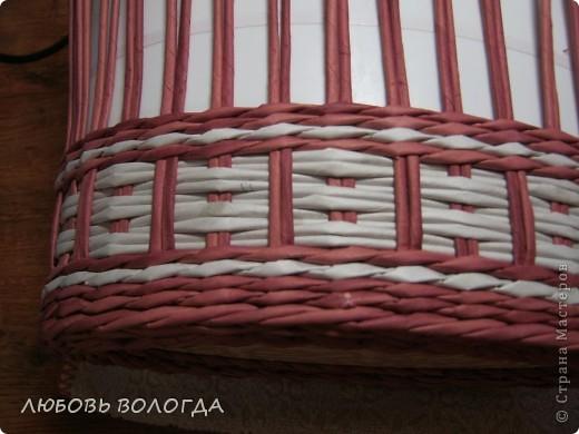 Мастер-класс, Поделка, изделие Плетение: и снова овальная... Бумага газетная. Фото 14
