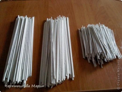 Как сделать тонкие трубочки из бумаги