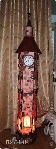 Интерьер, Мастер-класс Макет: Башня -ночник МК. Фото 1