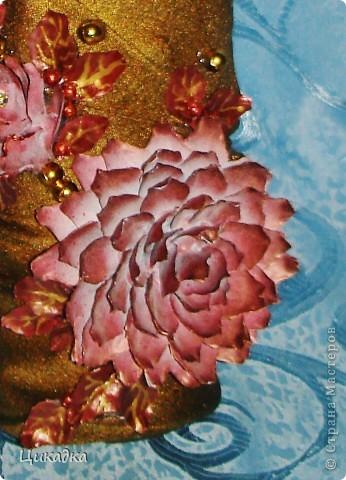 Мастер-класс, Поделка, изделие Моделирование: цветок из еловых лепестков Шишки. Фото 1