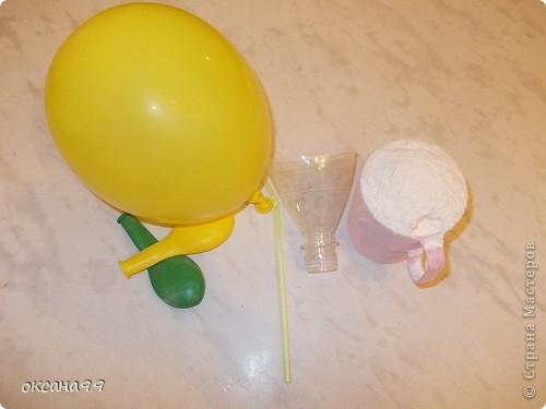 Игрушка из шарика и муки своими руками 48