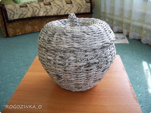 Здравствуйте, мастера и рукодельницы СМ. Скоро яблочный спас. Предлагаю вашему вниманию обещанный МК по плетению яблока.. Фото 20