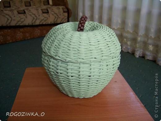 Здравствуйте, мастера и рукодельницы СМ. Скоро яблочный спас. Предлагаю вашему вниманию обещанный МК по плетению яблока.. Фото 21