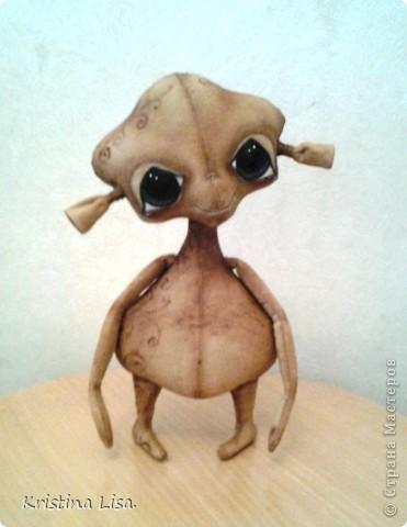 Игрушка, Куклы, Мастер-класс Шитьё: Рождение маленького чуда. МК. Ткань. Фото 8