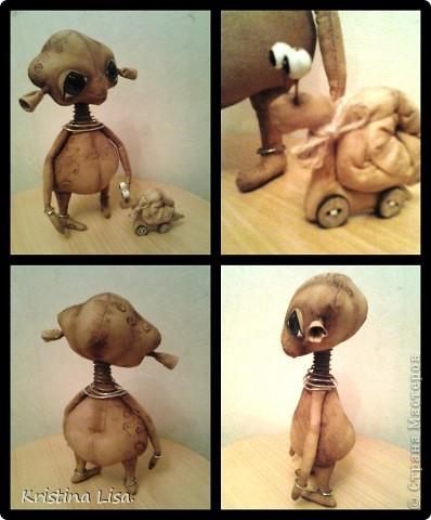 Игрушка, Куклы, Мастер-класс Шитьё: Рождение маленького чуда. МК. Ткань. Фото 10