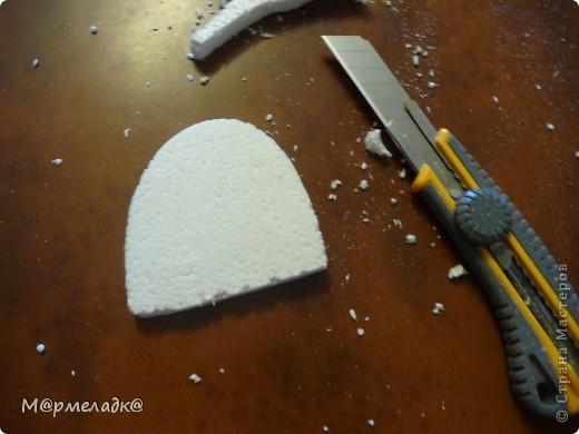 Мастер-класс, Свит-дизайн Бумагопластика: Сладкая туфелька МК Бумага гофрированная. Фото 11