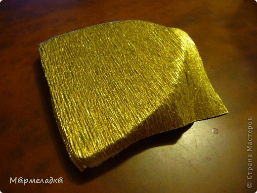 Мастер-класс, Свит-дизайн Бумагопластика: Сладкая туфелька МК Бумага гофрированная. Фото 13