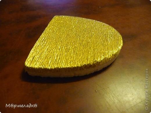 Мастер-класс, Свит-дизайн Бумагопластика: Сладкая туфелька МК Бумага гофрированная. Фото 14