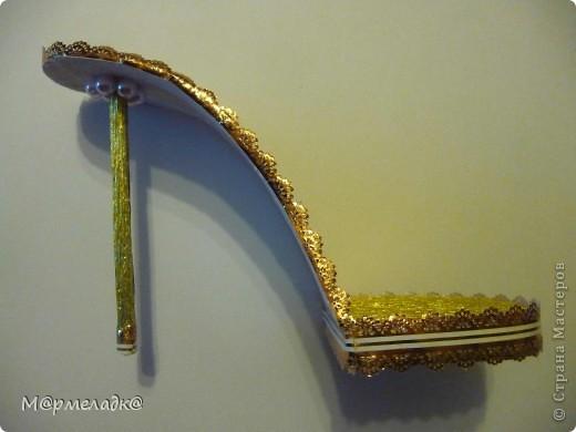 Мастер-класс, Свит-дизайн Бумагопластика: Сладкая туфелька МК Бумага гофрированная. Фото 27