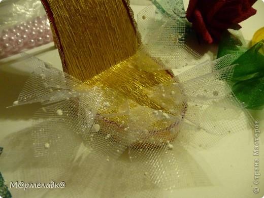 Мастер-класс, Свит-дизайн Бумагопластика: Сладкая туфелька МК Бумага гофрированная. Фото 29