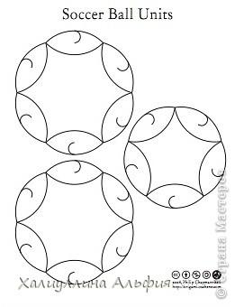 "Мастер-класс Оригами: МК Шарик ""Soccerball Ball Units"" (Автор: Philip Chapman-Bell) Бумага. Фото 2"