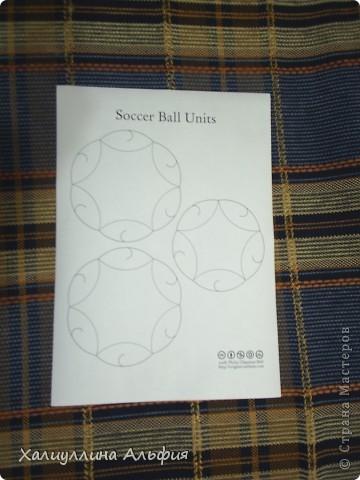"Мастер-класс Оригами: МК Шарик ""Soccerball Ball Units"" (Автор: Philip Chapman-Bell) Бумага. Фото 3"