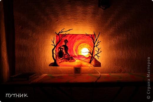"Интерьер, Мастер-класс Макет: Светильник "" ожидание"". Фото 14"