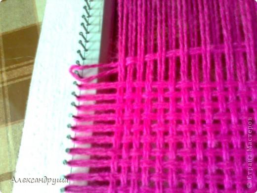 Шарф-хомут на станке для вязания: просто, быстро 87