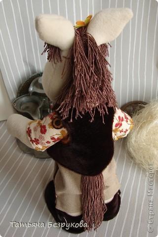 Игрушка Шитьё: Лошадка Иго-Го....В гости к Вам... Ткань Дебют. Фото 5