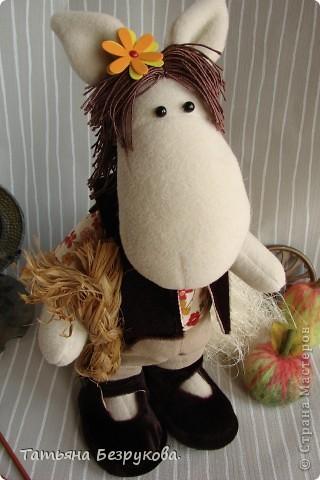 Игрушка Шитьё: Лошадка Иго-Го....В гости к Вам... Ткань Дебют. Фото 8