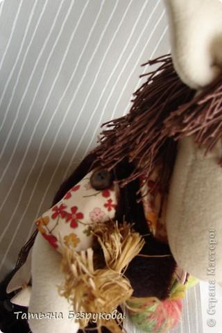 Игрушка Шитьё: Лошадка Иго-Го....В гости к Вам... Ткань Дебют. Фото 7