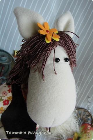 Игрушка Шитьё: Лошадка Иго-Го....В гости к Вам... Ткань Дебют. Фото 11