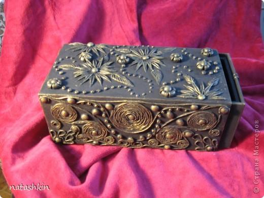 Декор предметов Лепка: Коробулька  для денежек  (Пейп-арт) Материал природный, Салфетки, Фарфор холодный. Фото 1
