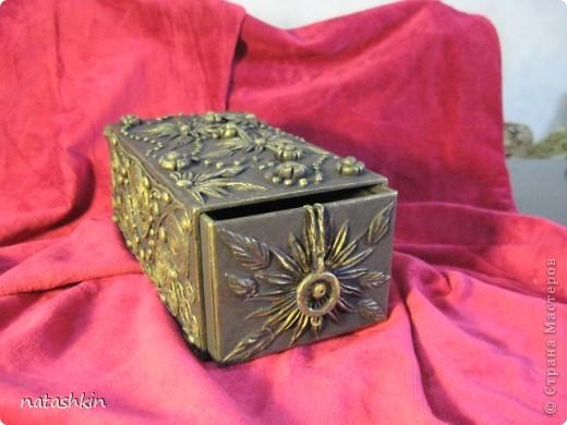 Декор предметов Лепка: Коробулька  для денежек  (Пейп-арт) Материал природный, Салфетки, Фарфор холодный. Фото 2