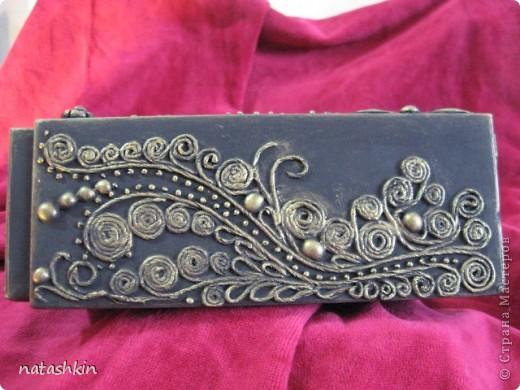 Декор предметов Лепка: Коробулька  для денежек  (Пейп-арт) Материал природный, Салфетки, Фарфор холодный. Фото 4