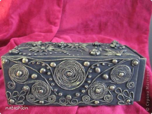 Декор предметов Лепка: Коробулька  для денежек  (Пейп-арт) Материал природный, Салфетки, Фарфор холодный. Фото 5