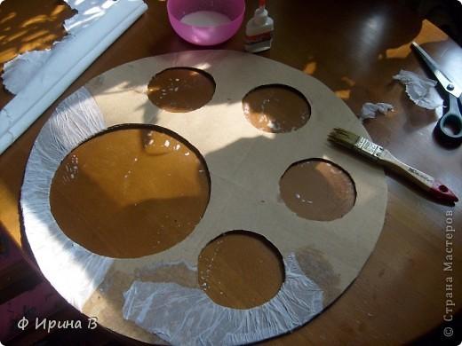 Мастер-класс Мозаика: Рамка-пано, из яичной скорлупы Скорлупа яичная. Фото 4