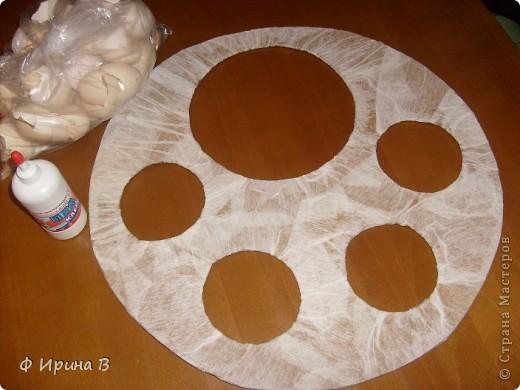 Мастер-класс Мозаика: Рамка-пано, из яичной скорлупы Скорлупа яичная. Фото 5