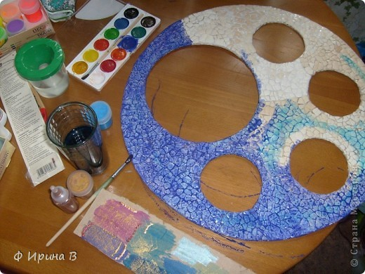 Мастер-класс Мозаика: Рамка-пано, из яичной скорлупы Скорлупа яичная. Фото 7
